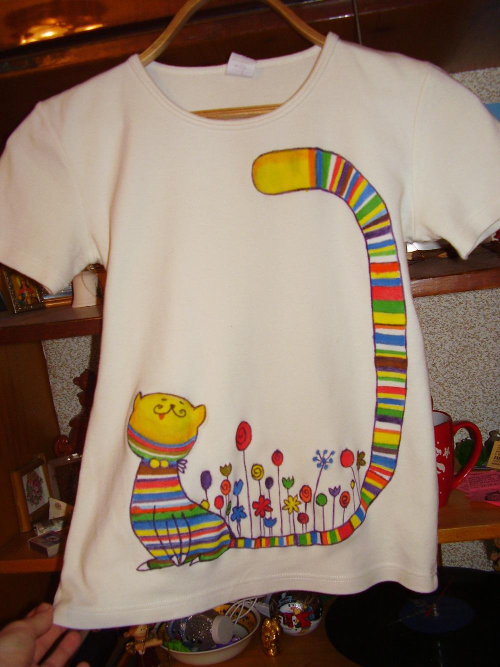 Рисунки на футболках своими руками (86 фото как сделать принт) 83